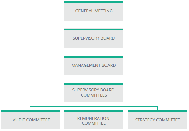 KGHM's Corporate Governance structure.