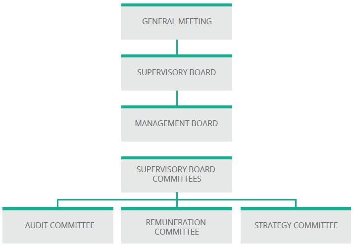 KGHM's Corporate Governance structure